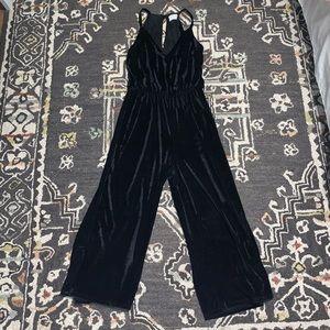 Pants - Velour Jumpsuit